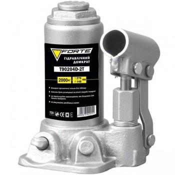 Домкрат гидравлический бутылочный Forte T90204D-2T