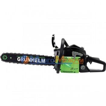 Бензопила Grunhelm GS-62-18/2 (2 шины; 2 цепи)