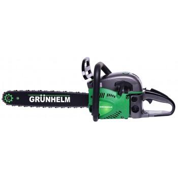 Бензопила Grunhelm GS58-18/2 Professional (2 шины; 2 цепи)