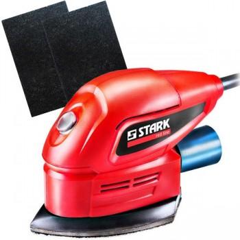 Шлифмашина вибрационная Stark FS 110 + 2 Волокнистых абразива Bosch Best for Finish Bright 152x229 мм (средний)