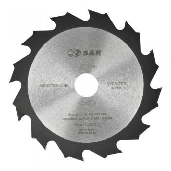 Диск пильный S&R Meister Sprinter 190x30x2,4 мм