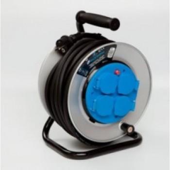 Удлинитель барабанный профессиональный Elektraline 25 м. 3х1,5