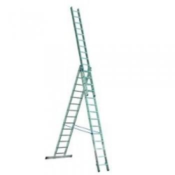 Лестница алюминиевая 3-х секционная Elkop VHR P3х17