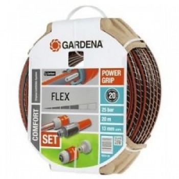 Шланг в комплекте с соединительными элементами Gardena Flex 13 м