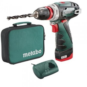 Дрель-шуруповерт аккумуляторный Metabo PowerMaxx BS (сумка)