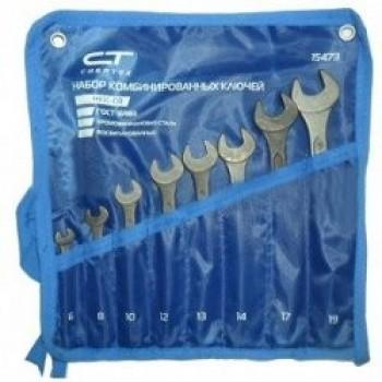 Набор ключей гаечных комбинированных Сибртех 10шт (6-22мм)
